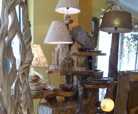 Holzdekor – Lampen